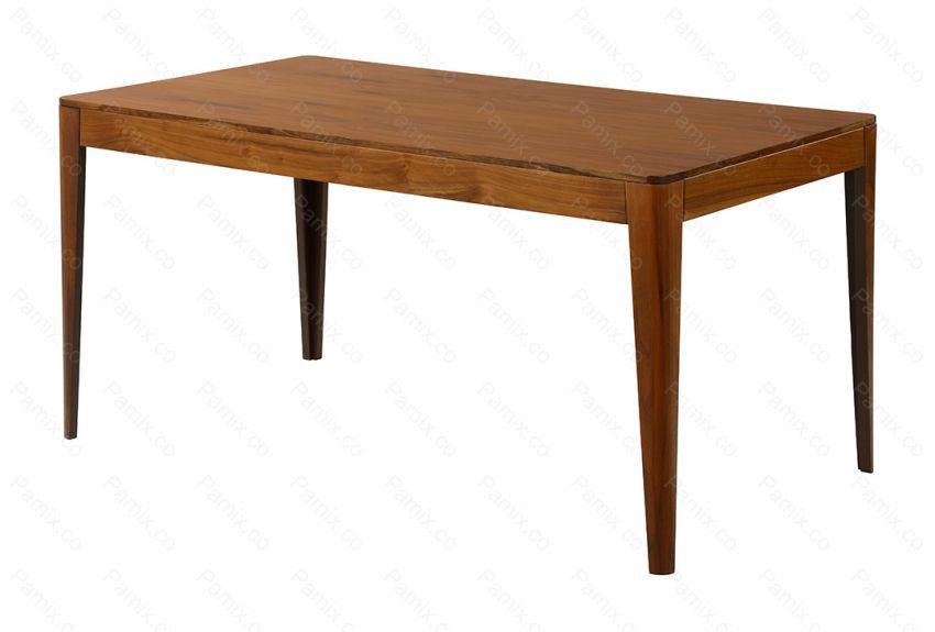 میز ناهارخوری 6 نفره  چوبی مدل WALNUT کد DT11